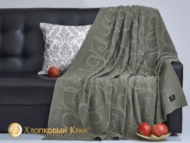 плед-покрывало на кровать Классик полынь 180*220см, фото 4