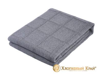 плед-покрывало на кровать Лофт серый 180*220см, фото 7