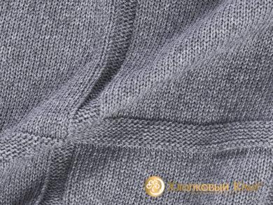 плед-покрывало на кровать Лофт серый 180*220см, фото 8