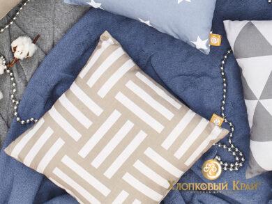 Подушка декоративная Гранж лен, фото 7