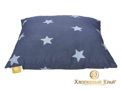 Подушка декоративная Лаунж темно-синий, фото 4