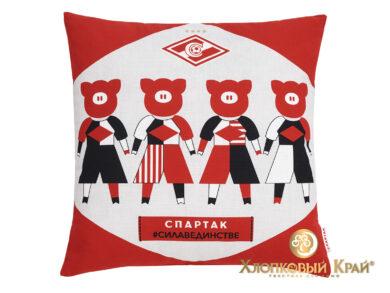 Подушка декоративная Спартак Мы команда, фото 2