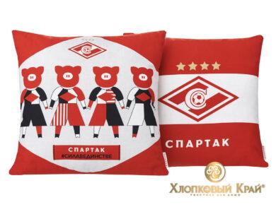 Подушка декоративная Спартак Мы команда, фото 7