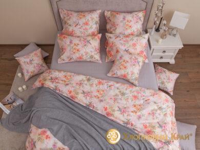 плед-покрывало на кровать Классик серый 220*260см, фото 14