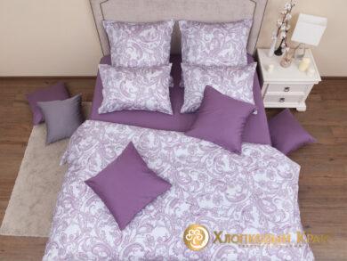 Постельное белье Эмилия лиловый, фото 2