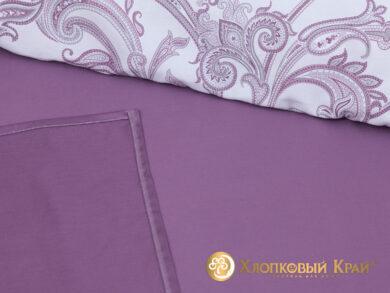 Постельное белье Эмилия лиловый, фото 8