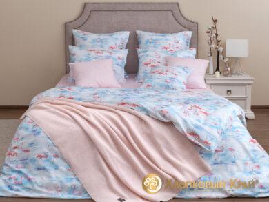Постельное белье Фламинго розовый, фото 12