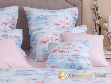 Постельное белье Фламинго розовый, фото 3