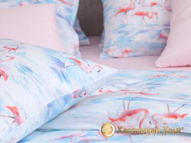 Постельное белье Фламинго розовый, фото 9