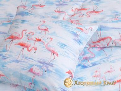 Постельное белье Фламинго розовый, фото 10