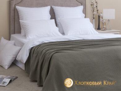 плед-покрывало на кровать Эко полынь 180*220см, фото 3