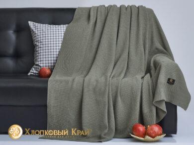 плед-покрывало на кровать Эко полынь 180*220см, фото 4