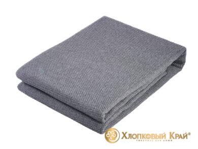 плед-покрывало на кровать Эко серый 180*220см, фото 7