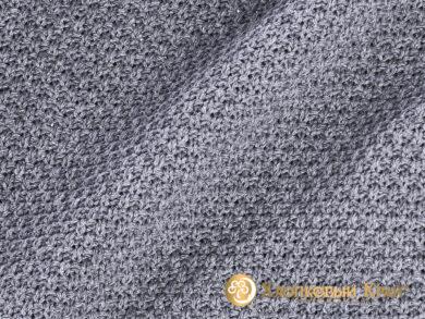 плед-покрывало на кровать Эко серый 180*220см, фото 8