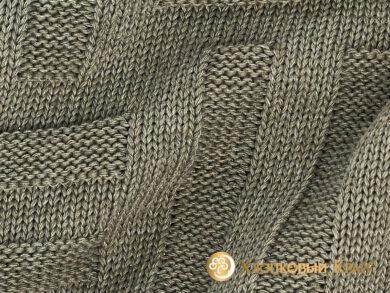 плед-покрывало на кровать Гранж полынь 180*220см, фото 8