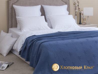 плед-покрывало на кровать Лаунж деним 180*220см, фото 3