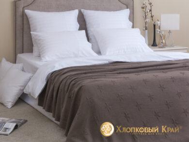 плед-покрывало на кровать Лаунж кофе 180*220см, фото 3