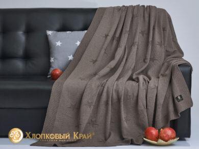 плед-покрывало на кровать Лаунж кофе 180*220см, фото 4