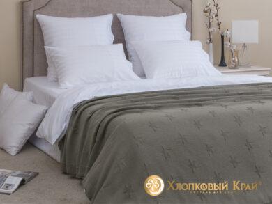 плед-покрывало на кровать Лаунж полынь 180*220см, фото 3