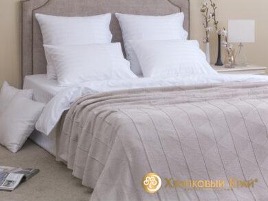 плед-покрывало на кровать Cканди лен 180*220см, фото 3