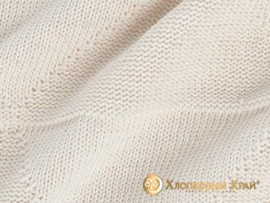 плед-покрывало на кровать Сканди молоко 180*220см, фото 8