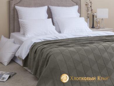плед-покрывало на кровать Сканди полынь 180*220см, фото 3