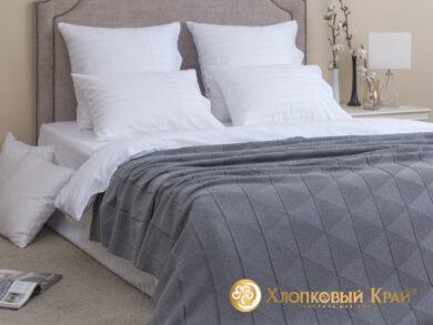 плед-покрывало на кровать Сканди серый 180*220см, фото 3
