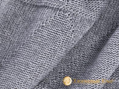 плед-покрывало на кровать Сканди серый 180*220см, фото 8