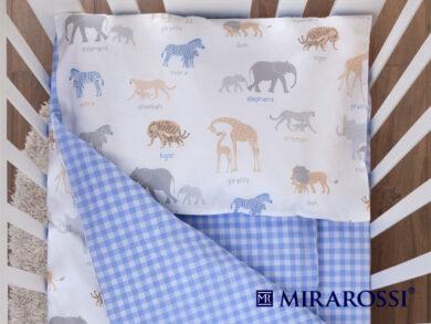 Постельное белье для новорожденных Африка blue, фото 2
