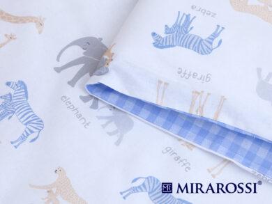 Постельное белье для новорожденных Африка blue, фото 3