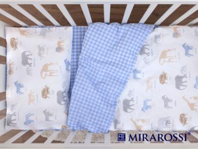 Постельное белье для новорожденных Африка blue, фото 4