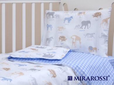 Постельное белье для новорожденных Африка blue, фото 9