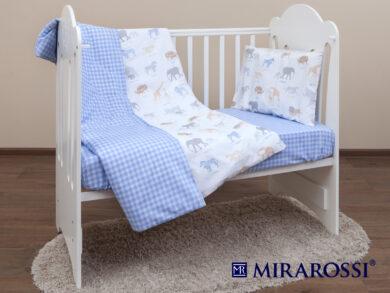 Постельное белье для новорожденных Африка blue, фото 8