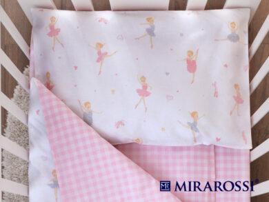 Постельное белье для новорожденных Балеринки, фото 2