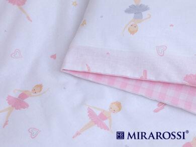 Постельное белье для новорожденных Балеринки, фото 3