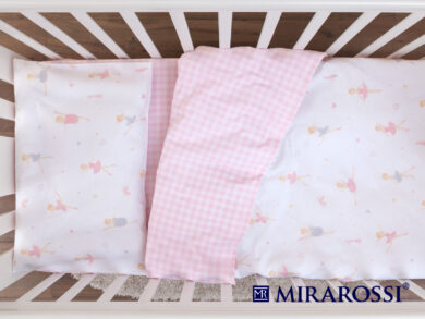 Постельное белье для новорожденных Балеринки, фото 4
