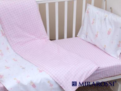 Постельное белье для новорожденных Балеринки, фото 5