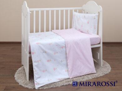 Постельное белье для новорожденных Балеринки, фото 7