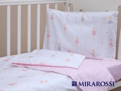 Постельное белье для новорожденных Балеринки, фото 8