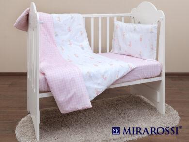 Постельное белье для новорожденных Балеринки, фото 9