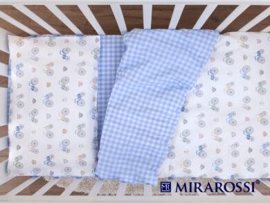 Постельное белье для новорожденных Ферма blue, фото 4
