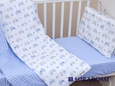 Постельное белье для новорожденных Ферма blue, фото 5