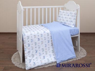Постельное белье для новорожденных Ферма blue, фото 7