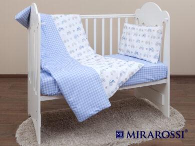 Постельное белье для новорожденных Ферма blue, фото 9