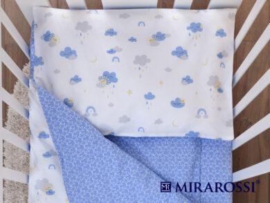 Постельное белье для новорожденных Облачко blue, фото 2