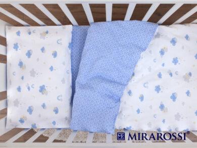 Постельное белье для новорожденных Облачко blue, фото 4