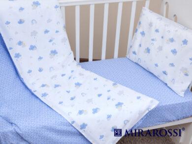 Постельное белье для новорожденных Облачко blue, фото 5