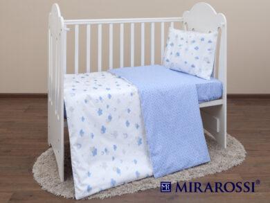 Постельное белье для новорожденных Облачко blue, фото 7