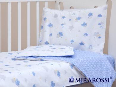 Постельное белье для новорожденных Облачко blue, фото 8