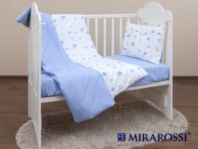 Постельное белье для новорожденных Облачко blue, фото 9